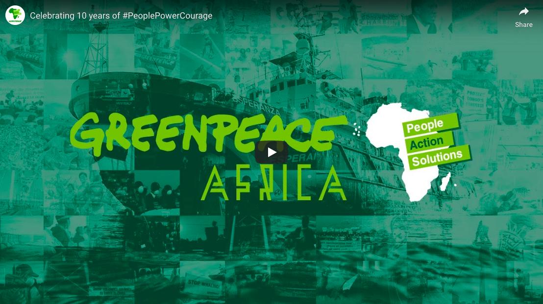 Greenpeace Africa Brand Video